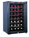 Vitrine de vins rouges semi-conducteurs