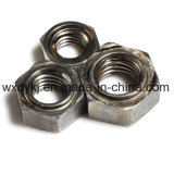 Noix ordinaire de soudure d'hexagone de soudure en acier de la pente 4.8