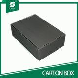 Caisse d'emballage de papier se pliante ridée estampée par coutume