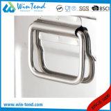 ふたの上の手を搭載する熱い販売のステンレス鋼の正方形のスープおよびビヤ樽