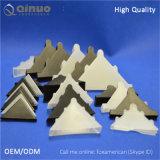 Precio de fábrica de Qinuo protector de la esquina plástico claro y negro de 50m m