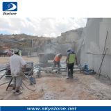 La máquina de perforación para la minería de granito