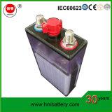 Bateria alcalina recarregável Ni-CD de tipo fritado Hengming Gnc60 para partida de motor diesel