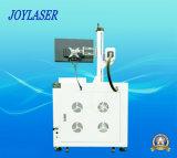 Máquina de marcação a laser de fibra com cuidado para produtos metálicos
