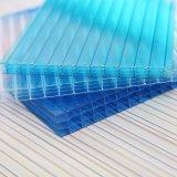 SGS Aprovado PC policarbonato Folha oca Folha sólida Folha ondulada revestida de UV