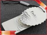 Il marchio d'argento ha stampato la modifica di carta di marchio dell'indumento della modifica di caduta