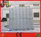 Het grijze Opblaasbare Aanplakbord van de Reclame voor Verkoop