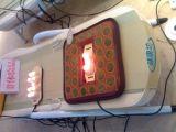 2016 최고 성과 등록되는 MP3 선수 FDA를 가진 무선 몸 전체 비취 롤러 전나무 Thermotherapy 안마 침대