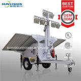 240W LED heller Aufsatz, Schlussteil-Typ heller Solaraufsatz, beweglicher heller Solaraufsatz