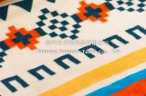 印刷されたポリエステルSherpaの赤ん坊の羊毛毛布/赤ん坊の製品