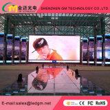 Al aire libre de alta definición la fundición a presión P8 del Gabinete de la pantalla de LED