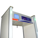 8/10zones Grand écran LCD marche à travers Jkdm-800D'un détecteur de métal