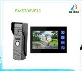 7 Zoll inländisches Wertpapier-Gegensprechanlage-videotür-Telefon-Türklingel-mit Speicher