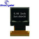 De Prijs OLED 0.66  het Witte OLED Scherm van de Vertoning 64X48 SSD1306bz van de fabriek