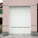 Rouleau de porte de garage de l'obturateur automatique d'alliage en aluminium