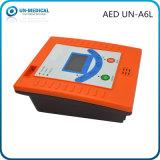 Defibrillator externo automatizado portable de primeros auxilios con software de la PC