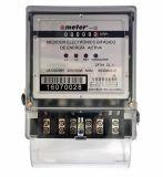Medidor de energía monofásico electrónico carril DIN Activo