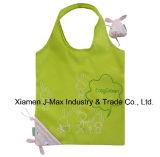 Sac pliable de client de cadeaux, type animal de lapin, réutilisable, léger, promotion