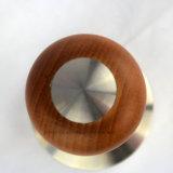 Compressore di legno del caffè della maniglia con il disegno speciale