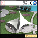 抗張膜の公園のための構造庭カバー景色のFbricのテントの膜のテント