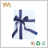 Rectángulo plegable de papel del rectángulo de la cartulina/de regalo del doblez/pequeños rectángulos de joyería plegables