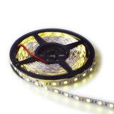 Tira 5m do diodo emissor de luz de DC12V 60LED/M RGB, IP20/IP65 impermeável