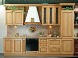 Hot Sale Wood Kitchens Modernes Armoires de cuisine en bois massif