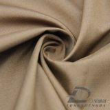 agua de 30d 320t y de la ropa de deportes tela rayada tejida chaqueta al aire libre Viento-Resistente 100% de la pongis del poliester del telar jacquar de la tela escocesa abajo (J054)