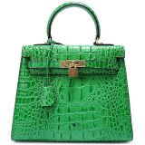 Prix de gros populaire Emg5072 de sacs d'épaule de Madame Crocodile Leather Handbag Fashion Crossbody de type
