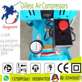 компрессор воздуха поршеня винта руки 50L 2X600W портативный