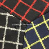 Проверите шинель ткани шерстей пряжи петли