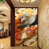 Los pájaros grabados y la pintura china impresa Digitaces de la flor para la decoración del vestíbulo