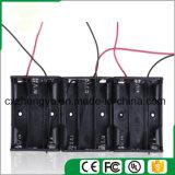 support de la batterie 3AA avec fils de fil rouges/noirs