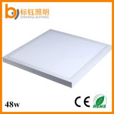 48W 2700-6500k Indoor Die-Casting Aluminium 90lm / W 600 * 600 LED Panel Light