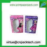 Бумажная коробка упаковки ресницы коробки подарка с окном PVC