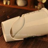 Tasse de café de publicité en céramique de cadeau de cuvette de double couche
