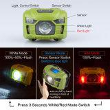Plastique ABS Phare RECHARGEABLE USB avec lumière du capteur de mouvement