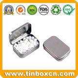 長方形の金属の錫キャンデーボックス、甘い錫、ゴムの錫ボックス