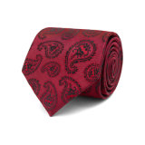 Handmade Mens 여위는 주문 패턴에 의하여 길쌈되는 리넨 넥타이