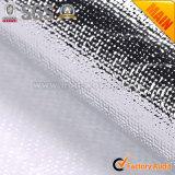 Película metálica tecido laminado de Prata