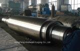 Кованая сталь сплошной вал ролика из стали с высоким качеством