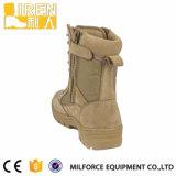 本物のスエード牛革頑丈なゴム製安全靴の軍の戦術的な砂漠ブート