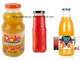 4 en 1 machine de remplissage mn de jus d'orange de bonne pour la bouteille en verre