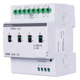Azionatore di interruttore quadruplo intelligente 20A del sistema di controllo di illuminazione