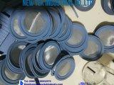 Acciaio inossidabile della tri del morsetto tubazione sanitaria della bobina 304 3A 6in x 6in