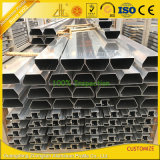 Cubierto con polvo de aluminio anodizado de perfiles para la construcción y decoración
