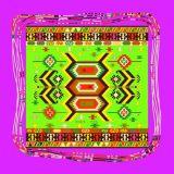 Шарф Women Silk ткани печатание 100% цифров способа красивейший (F13-0005)
