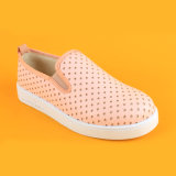Ботинки Loafers обуви девушок PU нового прибытия кожаный розовые для малышей