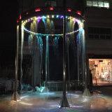 ステンレス鋼円形水噴水水カーテンの噴水