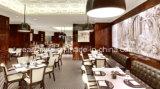 中国のレストランの家具のための卸し売り正方形のダイニングテーブルデザイン